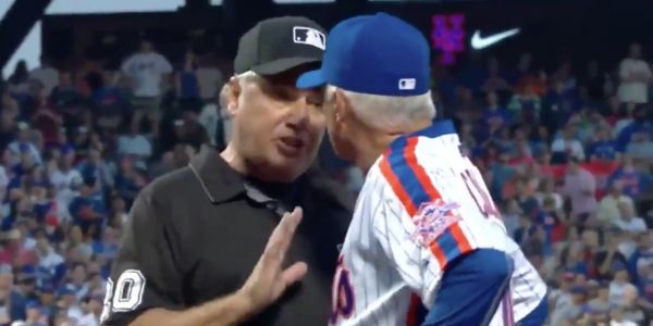 Incredible video of a mic'd-up umpire shows the manic emotion when a player gets ejected