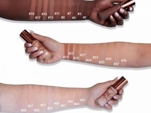 A beauty brand lists the darkest shades of its new foundation first - and people love it