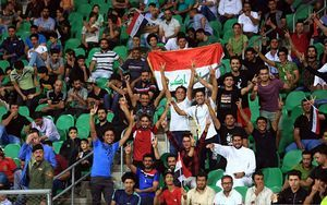 Iraqi fans celebrate lifting of 3-decade FIFA ban