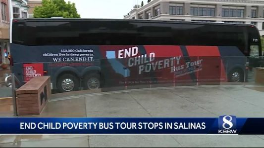 End Child Poverty Bus Tour stops in Salinas