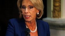 Betsy DeVos Used Private Email For Official Business In 'Limited' Cases