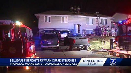 Bellevue firefighters warn current budget proposal means cuts to emergency services