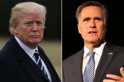 Trump endorses former rival Mitt Romney for Senate bid