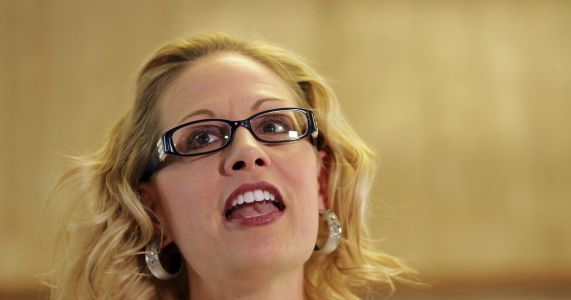 Ariz. Democrat Sinema takes a different path in Senate race