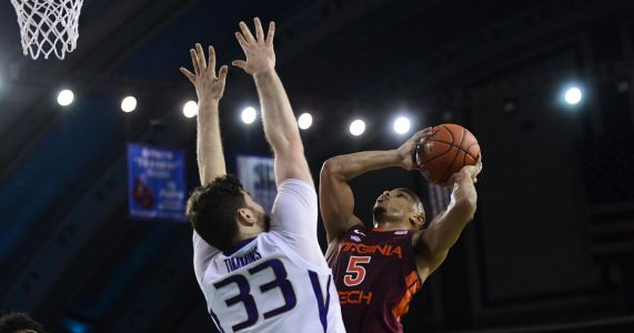 Huskies rally to give Virginia Tech a slight scare, but Hokies win 73-61