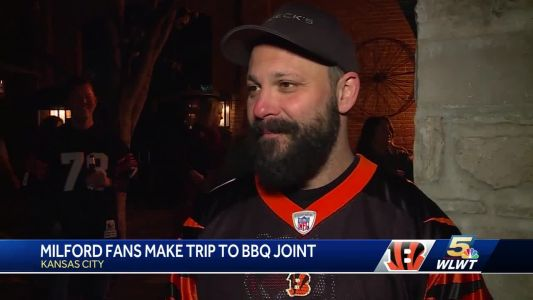 Bengals fans travel for big game and BBQ