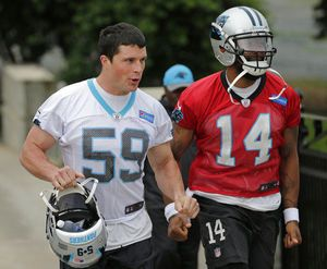 Panthers LB Kuechly won't change style after 2nd concussion