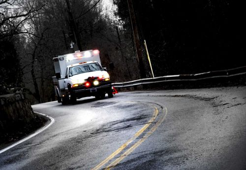 Ambulance that hit pothole on way to hospital may have saved patient's life, doctors say
