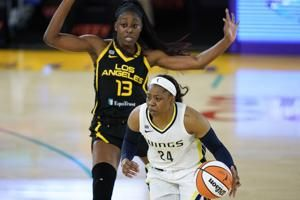 Top-pick Collier makes her debut, Wings beat new-look Sparks