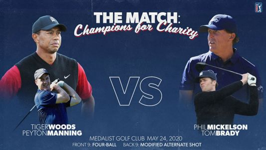 'The Match 2' purse: How much money will Tiger Woods, Peyton Manning, Tom Brady, Phil Mickelson win for charity?