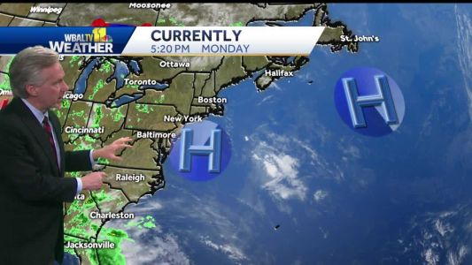 Morning clouds clear for sunny Tuesday afternoon