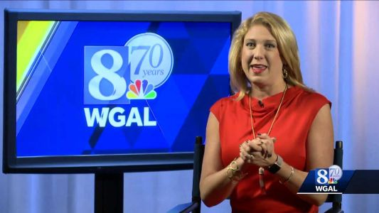 Meredith Jorgensen remembers her first day back at WGAL after battling uterine cancer