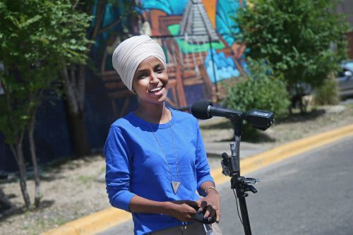 Rep. Ilhan Omar easily holds off well-funded challenger in Minnesota primary
