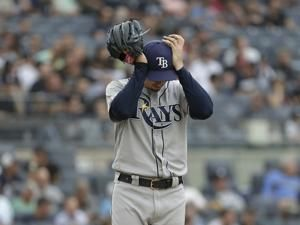 Snell chased in 1st, Sabathia wins 250th, Yankees sweep Rays