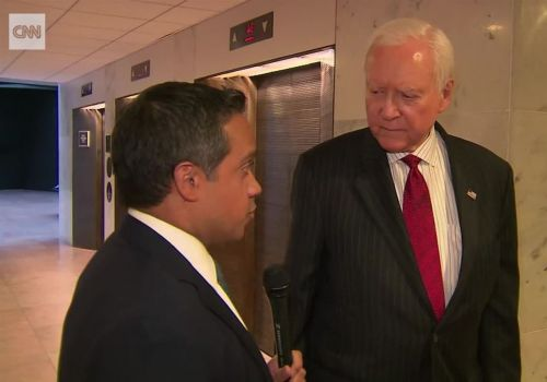 Hatch regrets 'I don't care' comment about Trump allegations