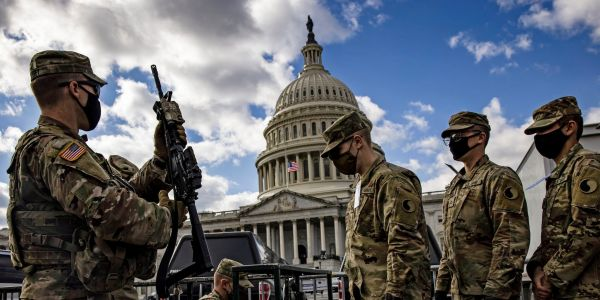 National Guard troops are being taught how to figure out if their colleagues are planning an attack on Biden's inauguration