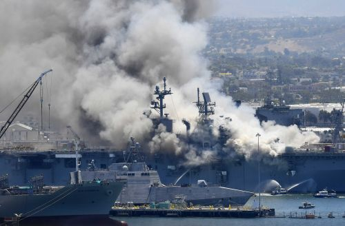 Navy will decommission warship damaged in suspected arson