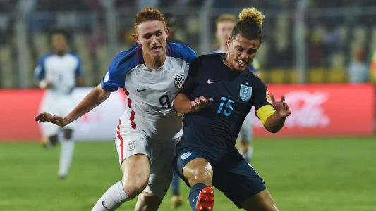 U.S. U-17s pay the price for flat showing in World Cup loss to England