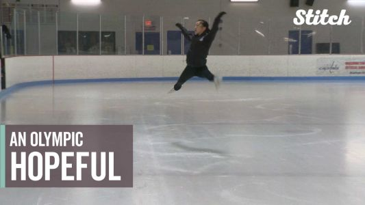 Teen eyes 2022 Olympics after winning bronze in World Junior Figure Skating Championships