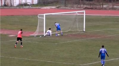 Worst miss ever? Unbelievable miss by Greek footballer inches from open net