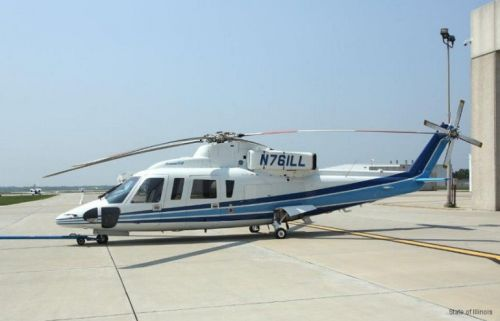 Kobe Bryant's helicopter was previously owned by the State of Illinois