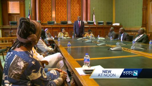 Kenyan leaders visit Iowa to learn about agriculture, infrastructure