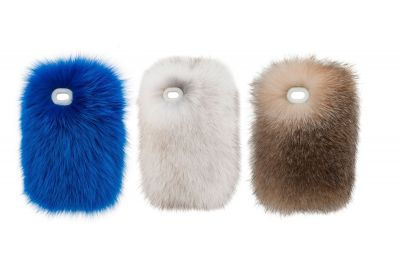 Yes, real-fur phone cases are a thing