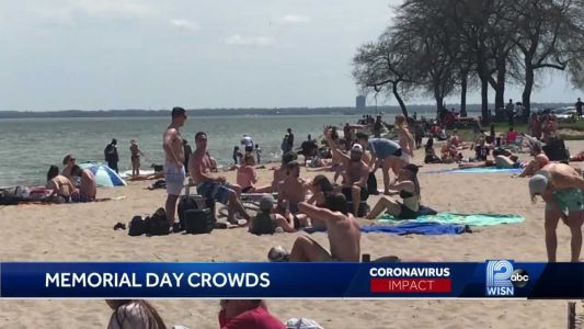 Pandemic not enough to keep people from beaches