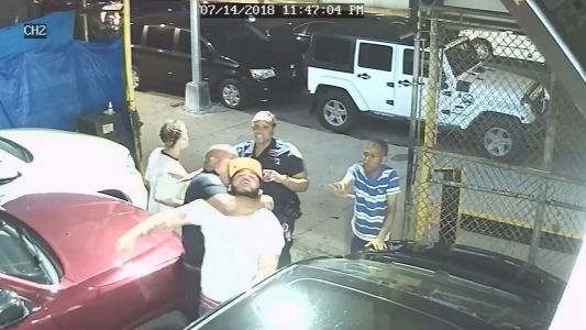 Video: Detective allegedly puts man in chokehold after noise complaint