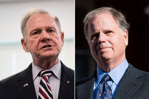 Roy Moore, Doug Jones face off in Alabama special election