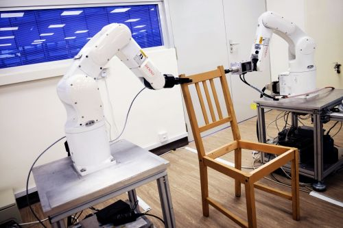 Robots have mastered the miserable task of assembling Ikea furniture - and they can do it in 20 minutes