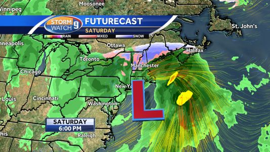 Possible weekend coastal storm may affect New England