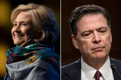 'But my emails': Hillary Clinton trolls James Comey