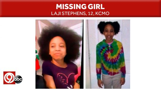 KCPD: Missing 12-year-old girl safe Tuesday