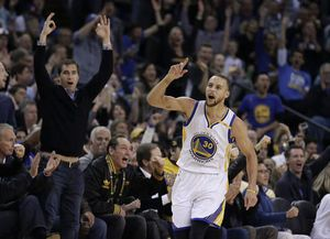 Warriors rout defending champion Cavaliers 126-91 in rematch