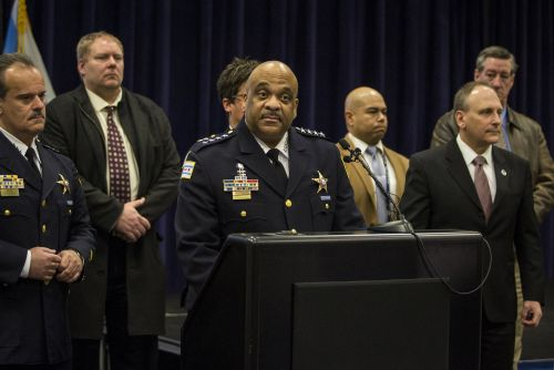 Chicago's police chief says he wishes gun violence victims got the same attention as the Jussie Smollett case