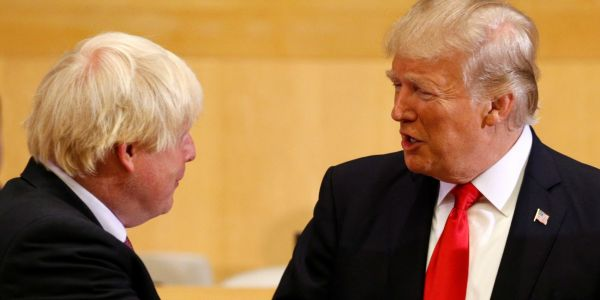 'He's going to do a great job': Trump says Boris Johnson will 'straighten' out Brexit after 'poor job' done by May