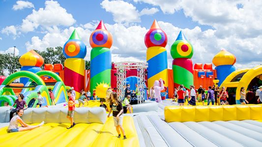 'World's biggest bounce house' coming to Pittsburgh