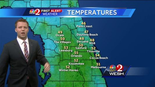 More cool weather Monday