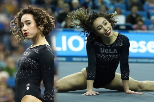 UCLA gymnast Katelyn Ohashi performs perfect 10 floor routine to Thriller