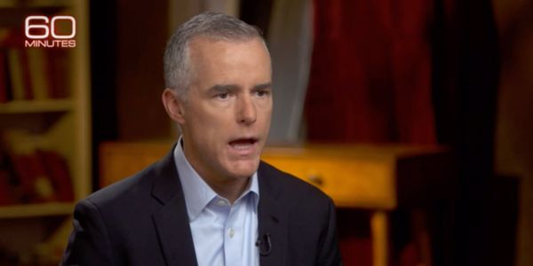 Andrew McCabe describes 'incredibly turbulent' period after Trump fired James Comey and reveals what he says prompted Rod Rosenstein to suggest wearing a wire to record the president