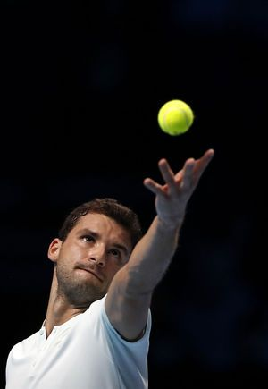 Dimitrov reaches semifinals at ATP Finals, beats Goffin