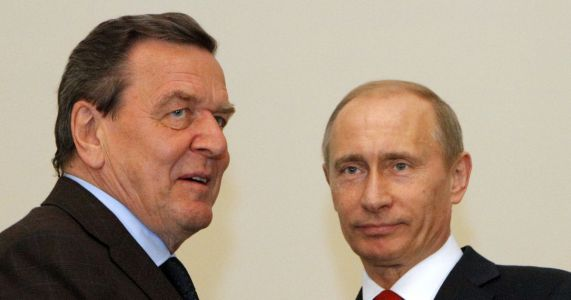 Germany rejects idea of sanctions on Schroeder over Russia