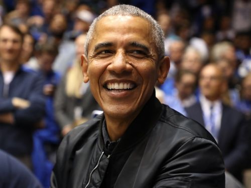 Barack Obama's custom $600 bomber jacket is a refreshing break from drab off-duty politician style