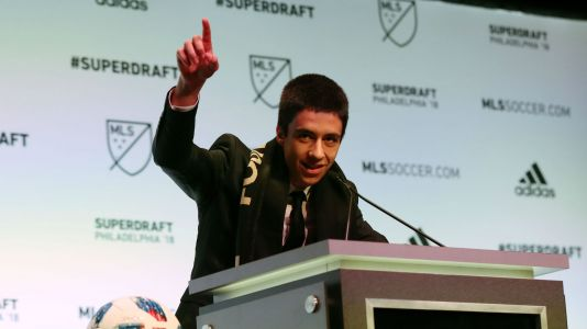 Los Angeles FC selects Joao Moutinho with first overall pick in MLS draft