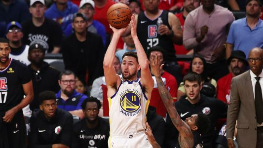 NBA playoffs 2019: Warriors' Klay Thompson says he ended slump by jumping in the ocean
