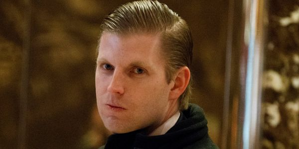 Eric Trump says a woman spit on him in a Chicago cocktail bar