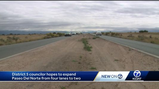 Drivers, councilor hope to see lane expansion on Paseo Del Norte