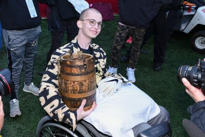 Purdue Student Walks 100 Miles To Indiana Game To Honor Late Superfan Tyler Trent