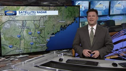Watch: Sun, high clouds on cool afternoon